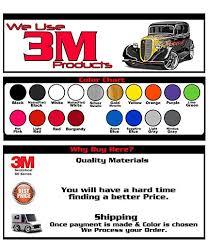 3m Vinyl Wrap Color Chart Amazon Com 2014 17 Corvette C7 Stingray Hood Decal Stripe