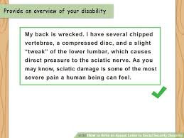 Disability Appeal Letters How To Write An Appeal Letter To Social Security Disability With