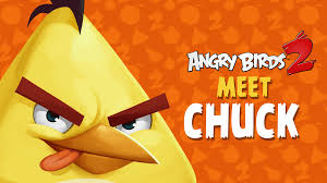 Angry Birds 2 – Meet Chuck: Good With Wood! - Angry Birds 2 - ToonsTV | Angry  birds, Angry birds 2 game, Birds