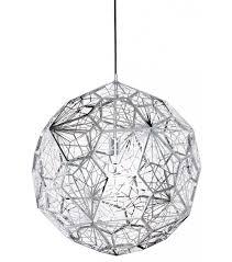 etch web steel pendant tom dixon