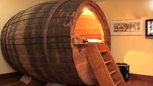 Cool man cave furniture Controller Whiskey Barrel Made Into Bed Man Cave Ideas 19 Diy Decor And Diy Projects Man Cave Ideas And Furniture Projects Diy Projects Craft Ideas