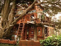 Best Treehouse Hotels In The World Top 10 Human Nest California Treehouse Vacation California
