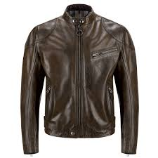 belstaff supreme hand waxed leather jacket black brown main