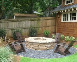 Backyard Fire Pits Landscaping Ideas  Home Fireplaces Firepits Backyard Fire Pit Design Ideas