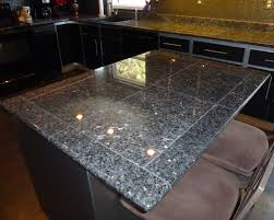 Granite Kitchen Tiles Deep Blue Pearl Granite Granite Tile Countertop For Kitchen