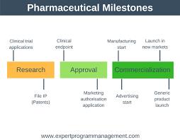 Clinical Trial Gantt Chart Milestones In Project Management Expert Program Management