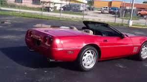 1992 Corvette Convertible - YouTube