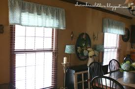 the blue flowers compliment the turquoise lamp shades and curtains beautifully it was like a match made in heaven and since the valances only cost 3 99