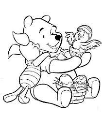 Winnie The Pooh Pimpi E La Pasqua Da Colorare Disegni Da Colorare