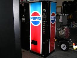 Pepsi Glass Front Vending Machine Cool Snack Attack Vending Vending Machine Parts Sales Service FREE