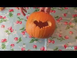 Pumpkin Carving: Bat Template - Youtube