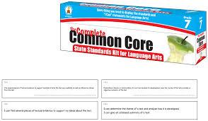 Common Core Language Arts Standards Kits Grades 6 8