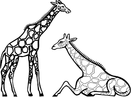 Small Picture Printable Giraffe Coloring Sheets 40 For Picture with Giraffe