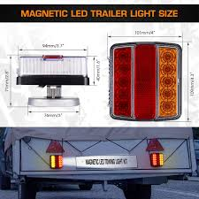 Tractor Supply Magnetic Trailer Lights Linkitom Magnetic Led Trailer Towing Light Kit 24ft Cable With 7 Pin Plug Ip68 Waterproof Dot Approved