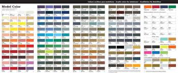 42 Meticulous Model Paint Cross Reference Chart