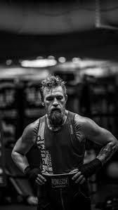 <b>Conor McGregor</b> training