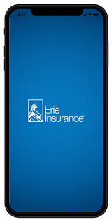 John.smith@erieinsurance.com) being used 80% of the time. Erie Insurance Mobile App