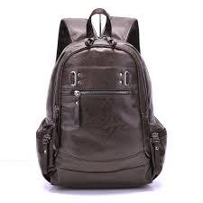 Black Designer Backpack Designer Backpack Backpacks For Men Bag Pu Black Leather Mens Shoulder Bags Fashion Male Business Boy Men Backpack School Bag Kelty Backpack Camo