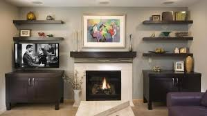 fireplace with shelf floating shelves by fireplace floating shelves around fireplace good idea or bad id