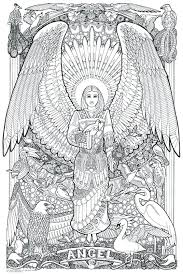 Wolf Coloring Pages Hard Free Printable Angel Coloring Pages For