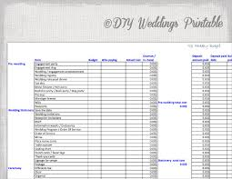 Budgeting For Wedding 22 Wedding Budget Templates Free Sample Example Format Download