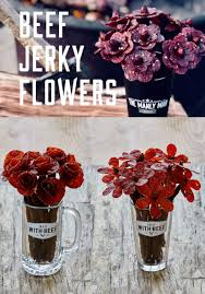 A valentine's day gifts for him delivery can be done last minute right before 2/14 or you can order today to have a valentine gift basket for him delivered to. Beef Jerky Bouquet Diy Donut Bouquet Edible Valentine For Guys A Subtle Revelry