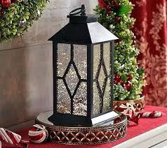 mercury glass lanterns illuminated indoor outdoor vintage lantern by hanging solar new silver
