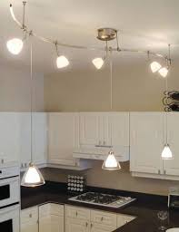 above kitchen with lbl soft curve monorail kit with monorail dome si coax pendants in clear and monorail mini dome ii swivel i heads