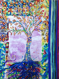 836 best Quilts images on Pinterest | Book art, Baby dolls and Cards & Quilted Wall Art Modern Art Quilt Tree of Life Quilt Adamdwight.com
