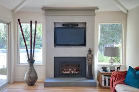 gas fireplace built in wall mounted gas fireplace living room contemporary with built in wall unit image by construction gas fireplace with built in