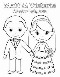 Free Kids Coloring Pages For Weddings Printable Coloring Page For Kids