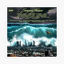 The quake occurred off the a tsunami advisory has been issued for yamagata and niigata prefectures and the noto area of. Emergency Tsunami Tracklist Poster Pin By Kellen121 Redbubble