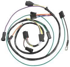 heater wiring harness w gas heater chevrolet corvair