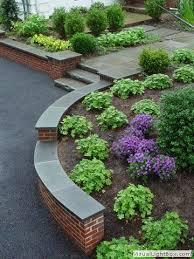 curved brick retaining wall