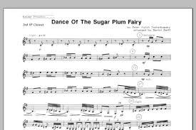 dance of the sugar plum fairy sheet music dance of the sugar plum fairy 2nd bb clarinet sheet music direct