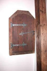 Decorative Electrical Box Cover Weathered Wood hides electrical panel Home Fronts Pinterest 3