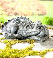 dragon garden statue stone dragon en statues on metal en statues black and gold cranes ornaments dragon garden statue