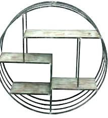 round metal shelf wood hanging shelves for the wall brackets round metal shelf brackets uk