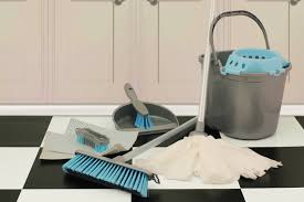 Kitchen Floor Cleaners Flooring Ideas Mop Floor Cleaners With Grey Plastic Bucket And