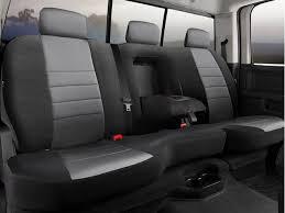 fia neoprene black grey 40 60 seat covers