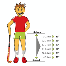 Field Hockey Stick Length Chart Which Stick Fits Fantastick