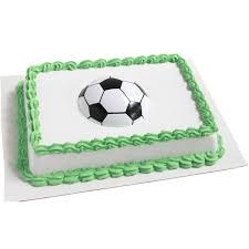 Soccer Ball Pop Top Cake Decoration