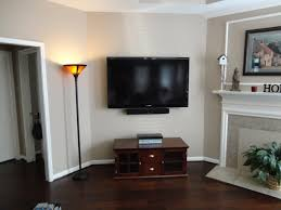 flat screen tv wall mounting done right