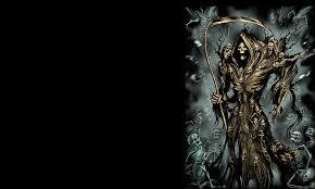 dark grim reaper wallpaper grim reaper