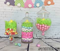 Decorated Candy Jars DIY Easter Candy Jars 9