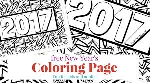 Small Picture New Years Eve with Kids A Coloring Page and Activity Ideas