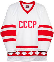 K1 Hockey Jersey Size Chart Russian 1980 Cccp Hockey White Jersey By K1 Sportswear