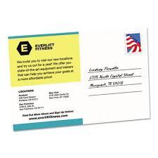 Avery 8383 Avery 8386 Postcards Inkjet 4 X 6 2 Cards Sheet White 100 Cards Box