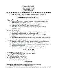 Here Are Warehouse Resume Templates Plumbing Resume Templates ...