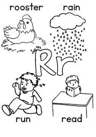 Small Picture Learn Alphabet Letter R Coloring Page Bulk Color